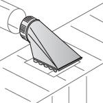 duct top takeoff illustration